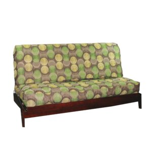 Thompkins Heavy Texture Box Cushion Futon Slipcover