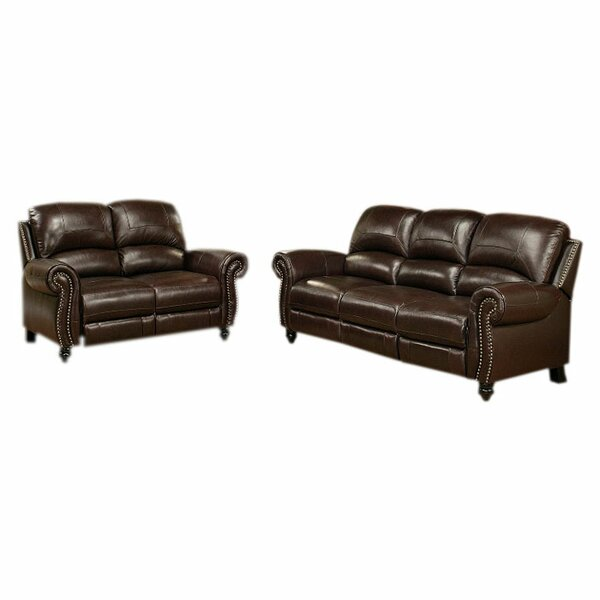 Leather Living Room Chair Part - 47: Leather Living Room Sets Youu0027ll Love | Wayfair