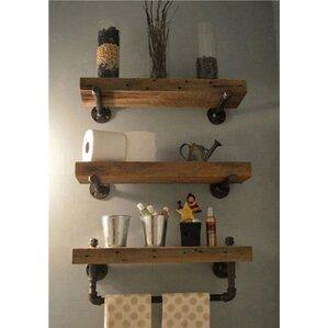 Borrero Pipe Accent Wall Shelf