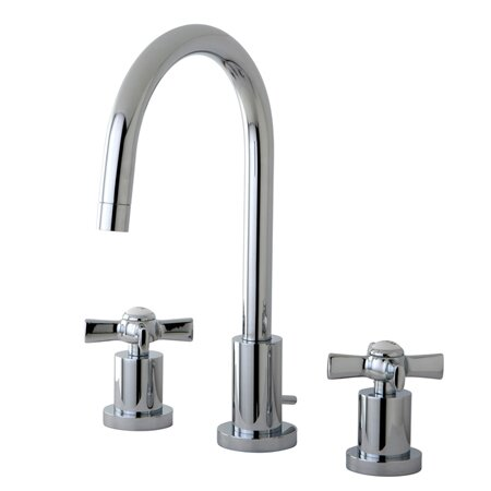 Millennium Widespread Cross Handle Bathroom Faucet