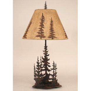 Goodman Feather Tree 33 Table Lamp