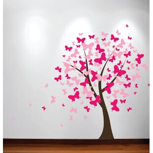 Blossom Butterfly Nursery Tree Wall Decal  sc 1 st  Wayfair & Butterfly Tree Wall Decal | Wayfair