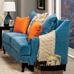 Reviews Back East Loveseat by Darby Home Co Reviews (2019) & Buyer's Guide