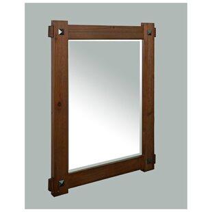 Weitzman Rustic Bathroom/Vanity Mirror by Millwood Pines
