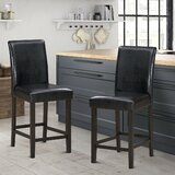 Aubreelynn 25'' Counter Stool (Set of 2) by Red Barrel Studio®