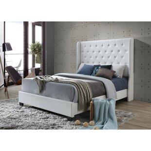 Hollier Modern Queen Upholstered Platform Bed by Rosdorf Park
