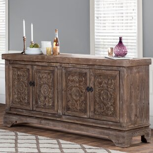 Steinhatchee Reclaimed Pine 4 Door Sideboard Bungalow Rose
