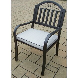 Lisabeth Patio Dining Chair with Cushion