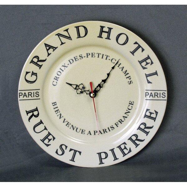 Grand Hotel Wall Clock Wayfair