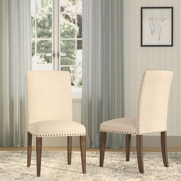 Shop Wilmington Upholstered Dining Chair from Wayfair on Openhaus