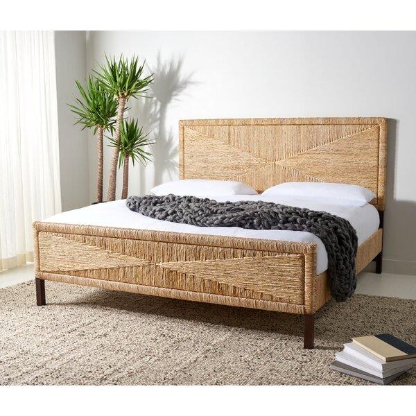 Solid Wood Low Profile Standard Bed Joss Main