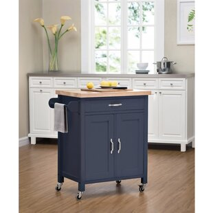 Philomene Kitchen Cart by August Grove Wonderful