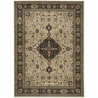 Bloomsbury Market One Of A Kind Cardington 4 11 X 6 5 Beige Dark Brown Ivory Area Rug Wayfair