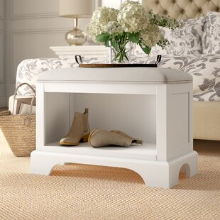Barnard Wood Storage Bedroom Bench by Birch Lane™ Heritage