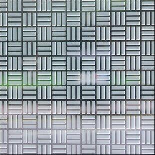 Egyptian Weave Sheer Window Film by Stick Pretty