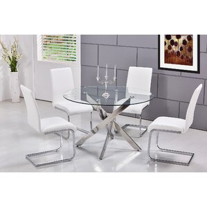 Fields 5 Pieces Dining Set
