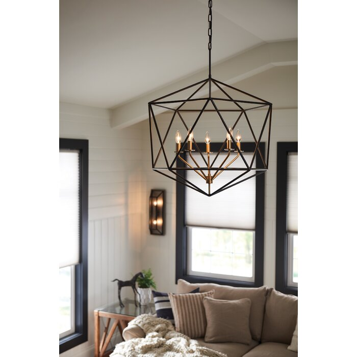 Astrid 5 Light Foyer Pendant