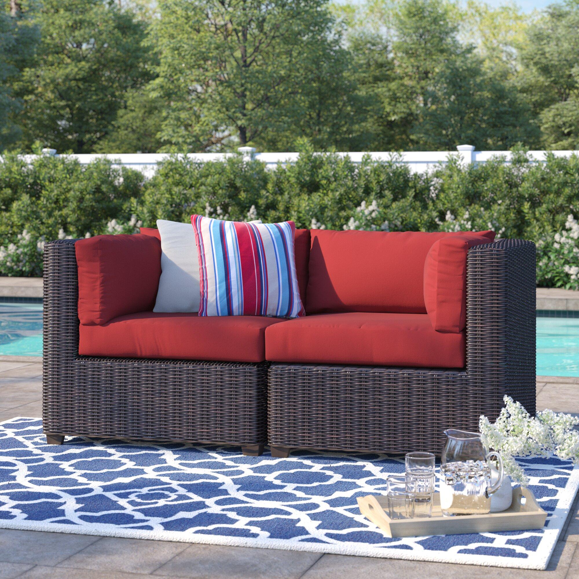 Fairfield Patio Loveseat With Cushions