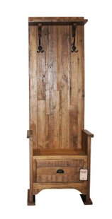 Laury Single Hall Wood Storage Bench by Gracie Oaks