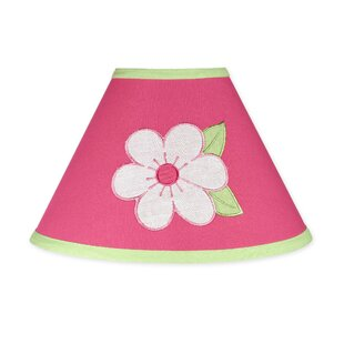 Compare Flower 10 Cotton Empire Lamp Shade By Sweet Jojo Designs