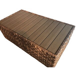 Lankford Wicker Coffee Table