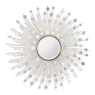 Milivoje Starburst Accent Mirror by Everly Quinn