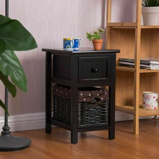 Augu End Table with Storage