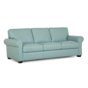 Green Leather Sofas You\'ll Love in 2019 | Wayfair