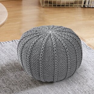 Kiester Pouf by Bungalow Rose