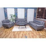 Ravi 3 Piece Living Room Set by Orren Ellis