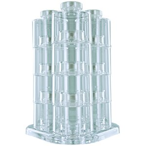 Tower Carousel 12 Jar Spice Jar & Rack Set