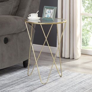 Heintz Hairpin End Table