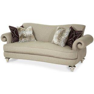 Hollywood Swank Sofa by Michael Amini