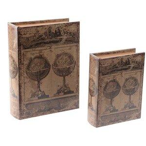 2-tlg. Bücherbox-Set von Inart