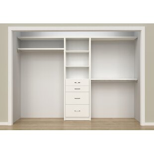 Wood closet shelving Ventilated Quickview Lundia Usa Closet Systems Organizers Youll Love Wayfair