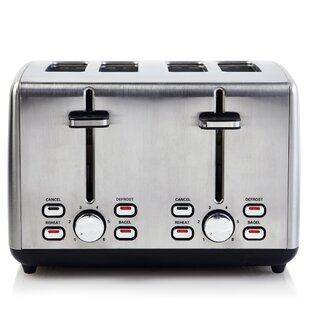 4 Slice Simon Extra Wide Toaster
