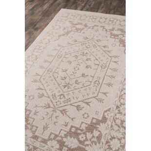 Downeast Brunswick Beige Indoor/Outdoor Area Rug
