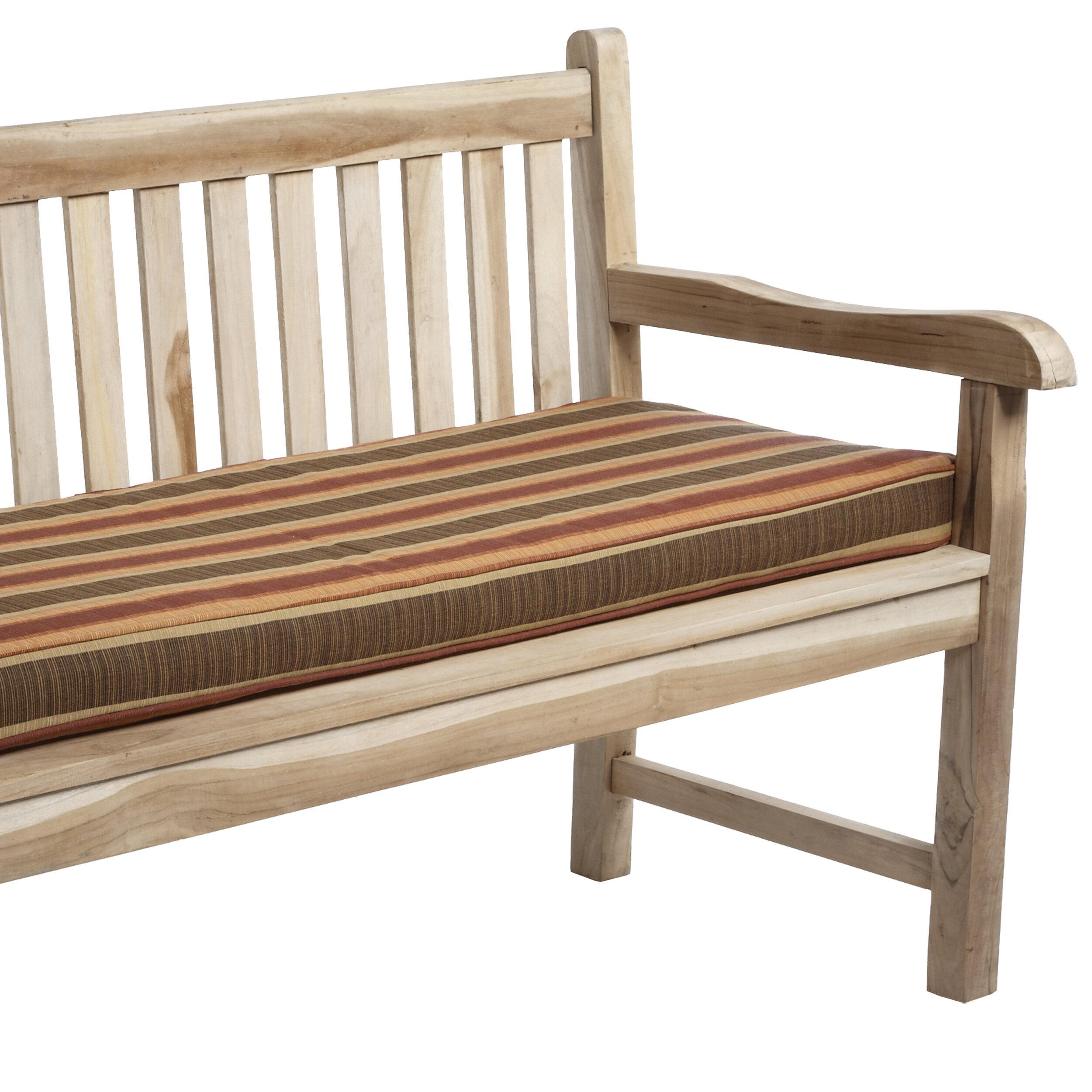 Beau Indoor/Outdoor Sunbrella Bench Cushion