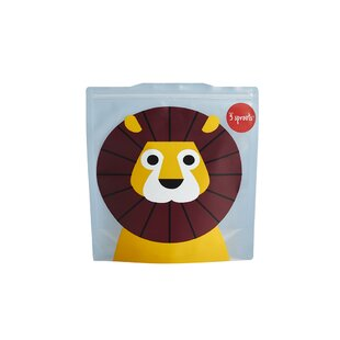 3 Sprouts Lion Sandwich Bag (Set of 2)