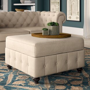 Quitaque Tufted Storage Ottoman By Greyleigh