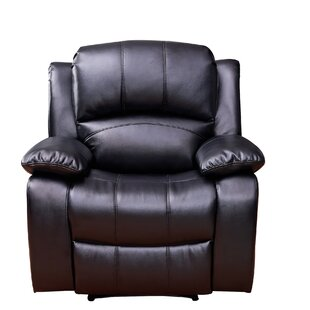 Great Price Gira Leather Manual Recliner by Red Barrel Studio Reviews (2019) & Buyer's Guide