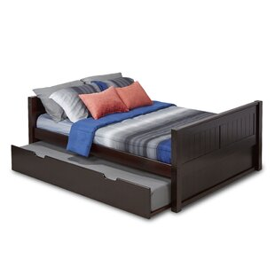 Oakwood Full/Double Panel Bed with Trundle and Drawers by Mack & Milo
