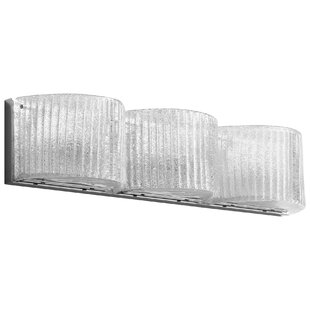 Glacial Drift 3-Light Bath Bar by Cyan Design