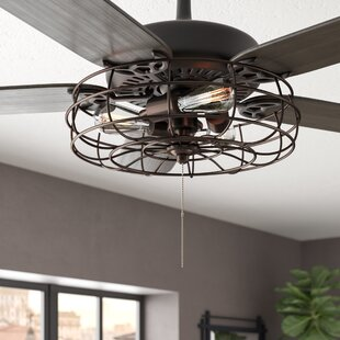 Ratcliffe 3-Light Branched Ceiling Fan Branched Light Kit