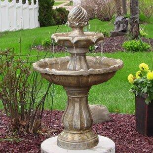 Small Backyard Fountains outdoor fountains you'll love | wayfair
