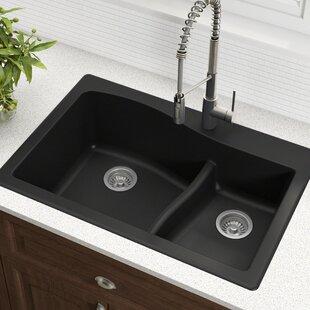 Find The Perfect Black Kraus Granite Kitchen Sinks Wayfair