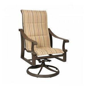 Bungalow Swivel Patio Dining Chair By Woodard