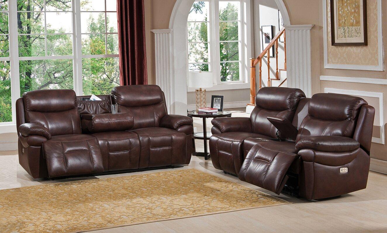 Recliner Living Room Sets Delange Power Reclining Living Room