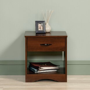 Find the perfect Everett 1 Drawer Nightstand ByZipcode Design