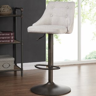 Judkins Adjustable Height Bar Stool (Set of 2) Brayden Studio